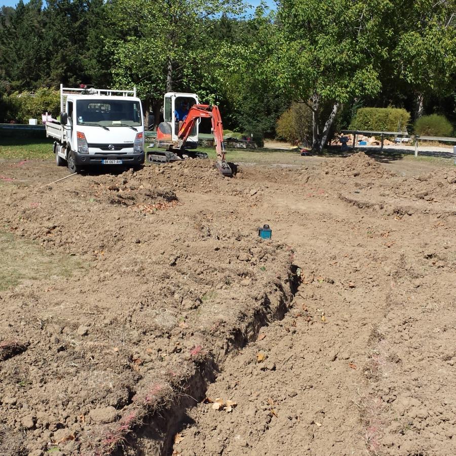 Comment Faire Un Terrassement En Pente terrassement et enrochement ~~ création de jardins brignoles