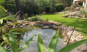 L'eau dans le jardin