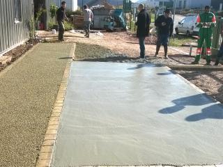 Création d'allée de jardin / entrée de villa / parking