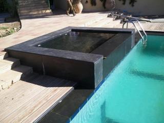 Réfection de piscine et création de terrasse à Saint Tropez