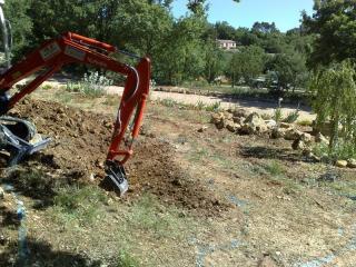 Création d'un bassin naturel à Brignoles