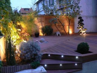 Installation d'éclairage de jardin à Fréjus (83)