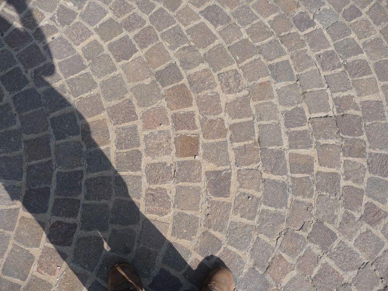 Pav granit rose chantier cuers var - Joint polymere pour pave ...